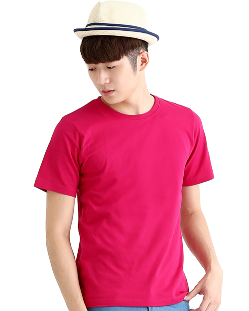 T恤純棉中性版圓領短袖 特桃