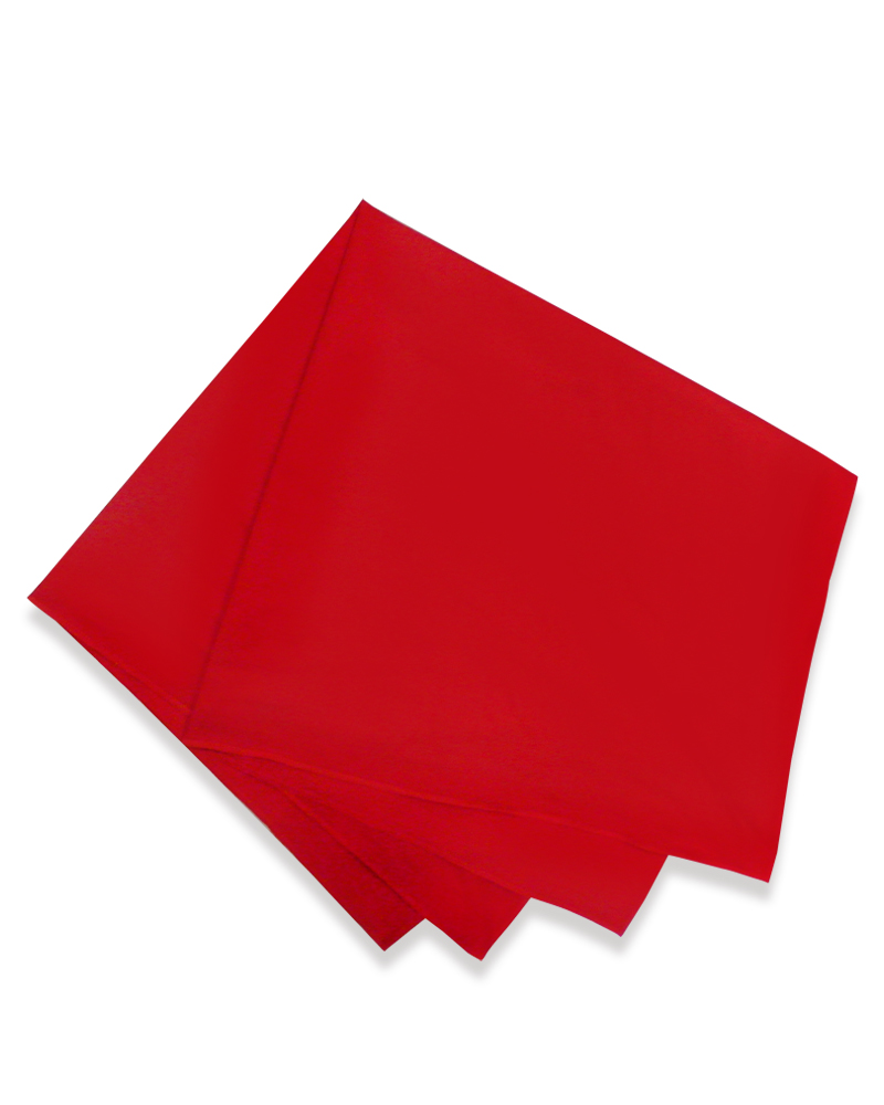 四角領巾 紅 SF-