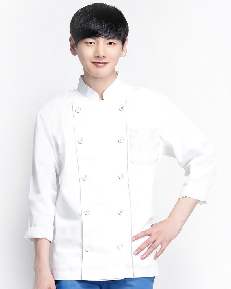 廚師服 雙排釦長袖