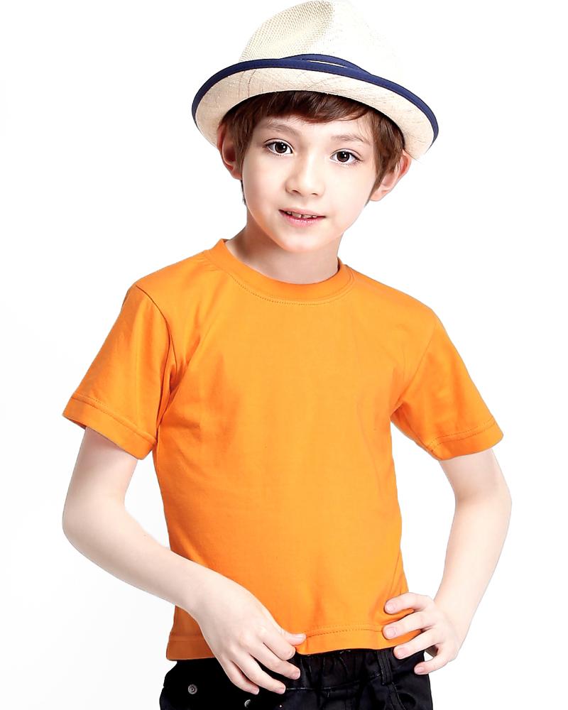 T恤純棉童版圓領短袖