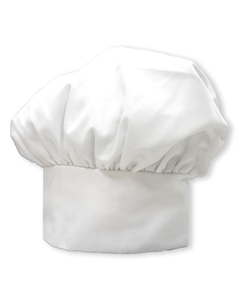 廚師帽 香菇帽 白