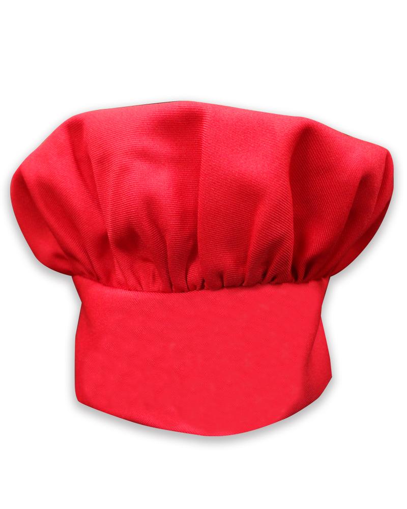 廚師帽 香菇帽 紅
