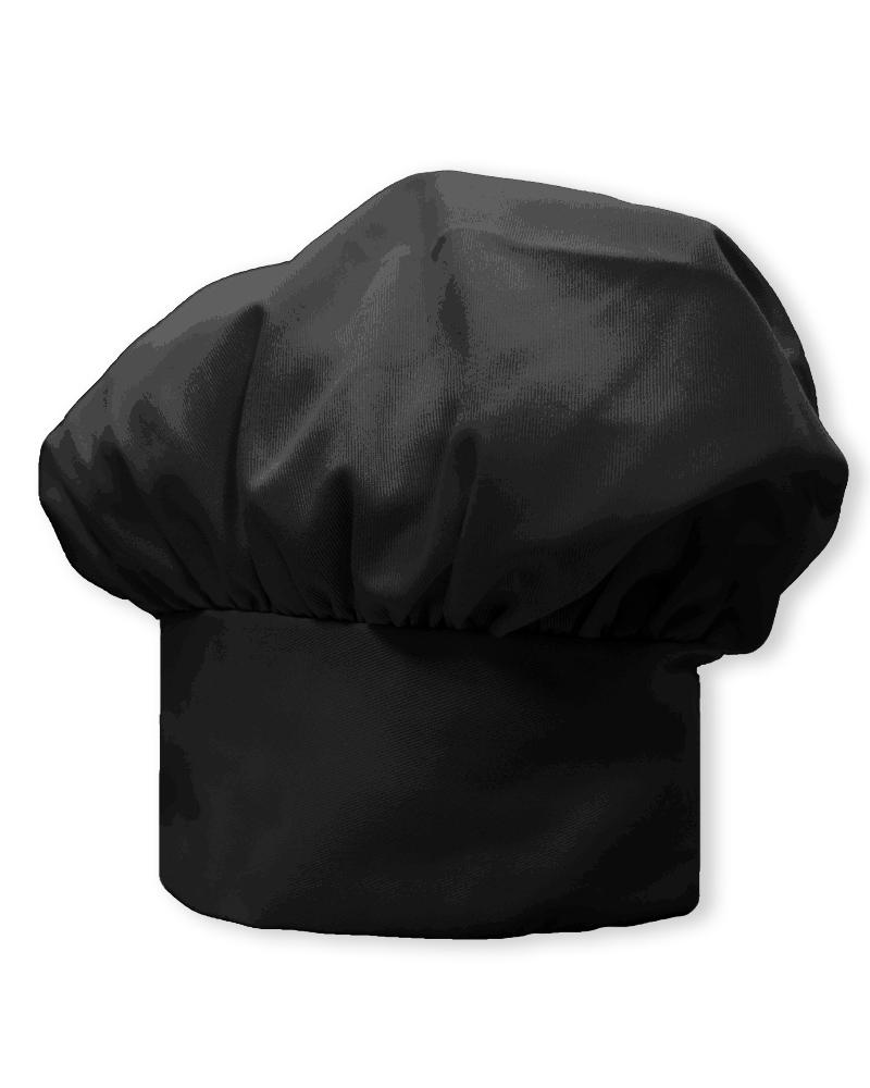 廚師帽 香菇帽 黑