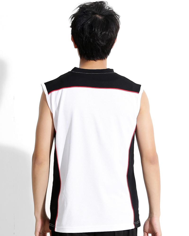背心訂製 v領運動背心 白黑紅 中性