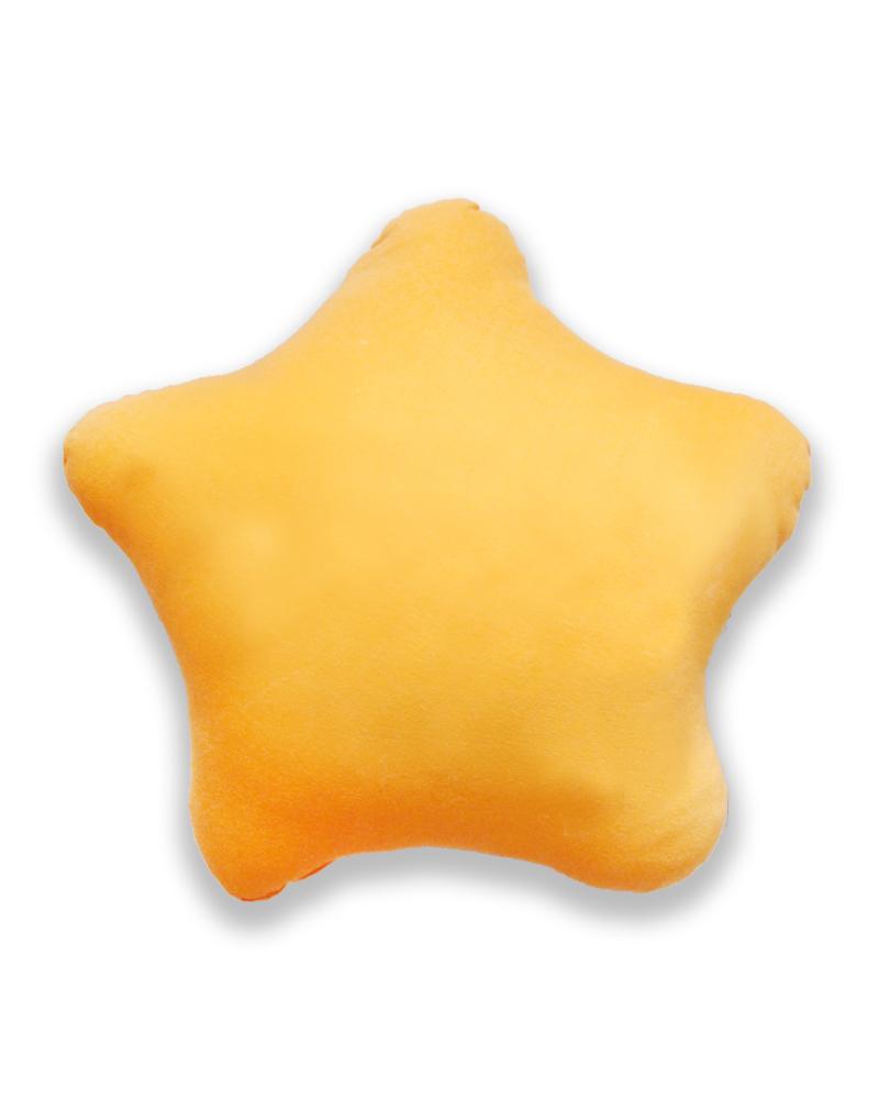 星星抱枕 橘色 PI