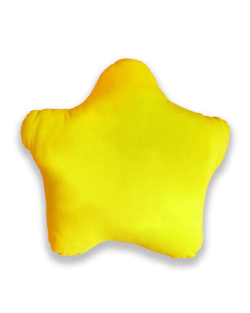 星星抱枕 黃色 PI