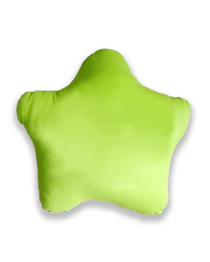 星星抱枕 綠色 PI