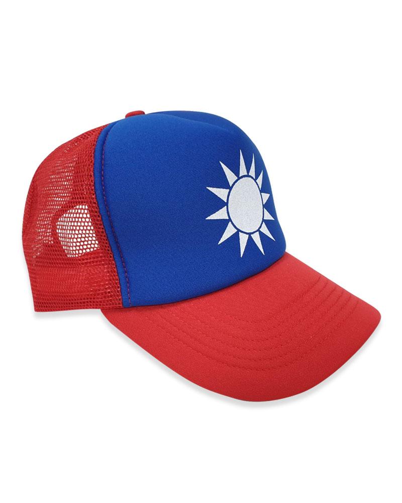 泡棉帽 國旗帽 現貨