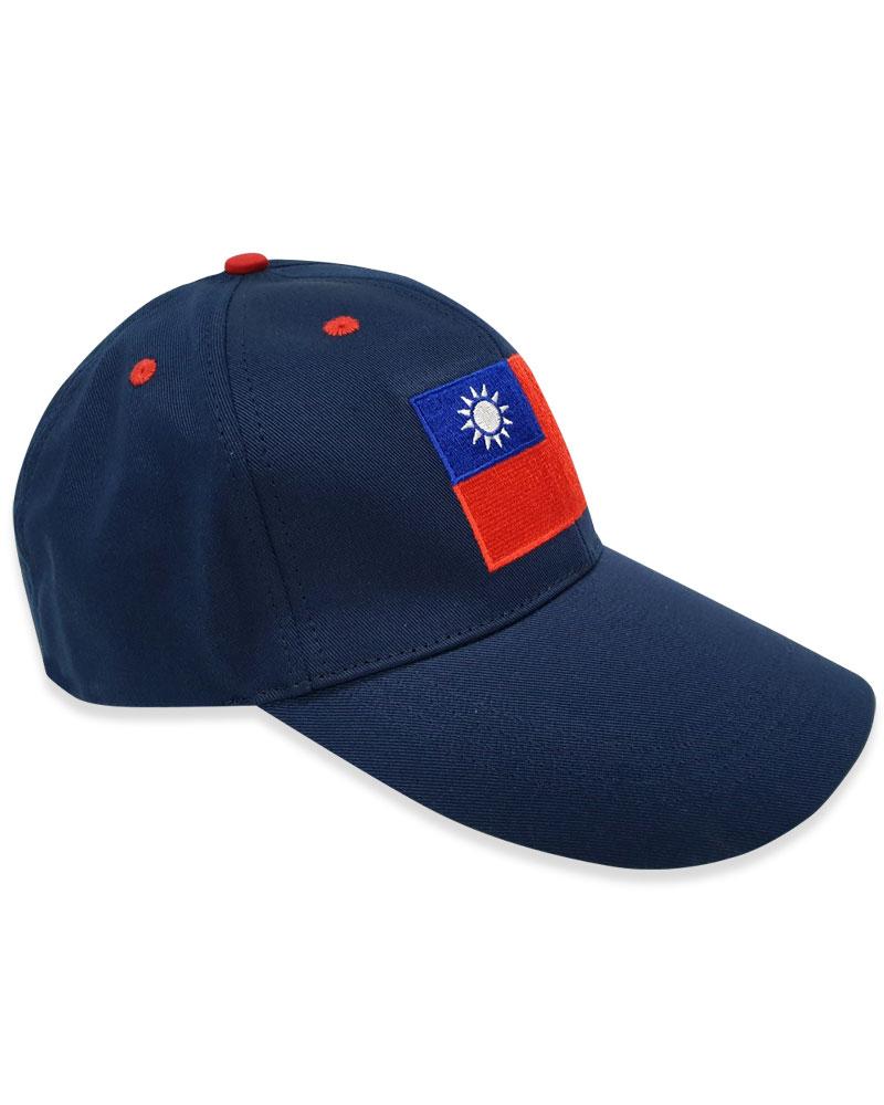磨毛帽 國旗帽 六片