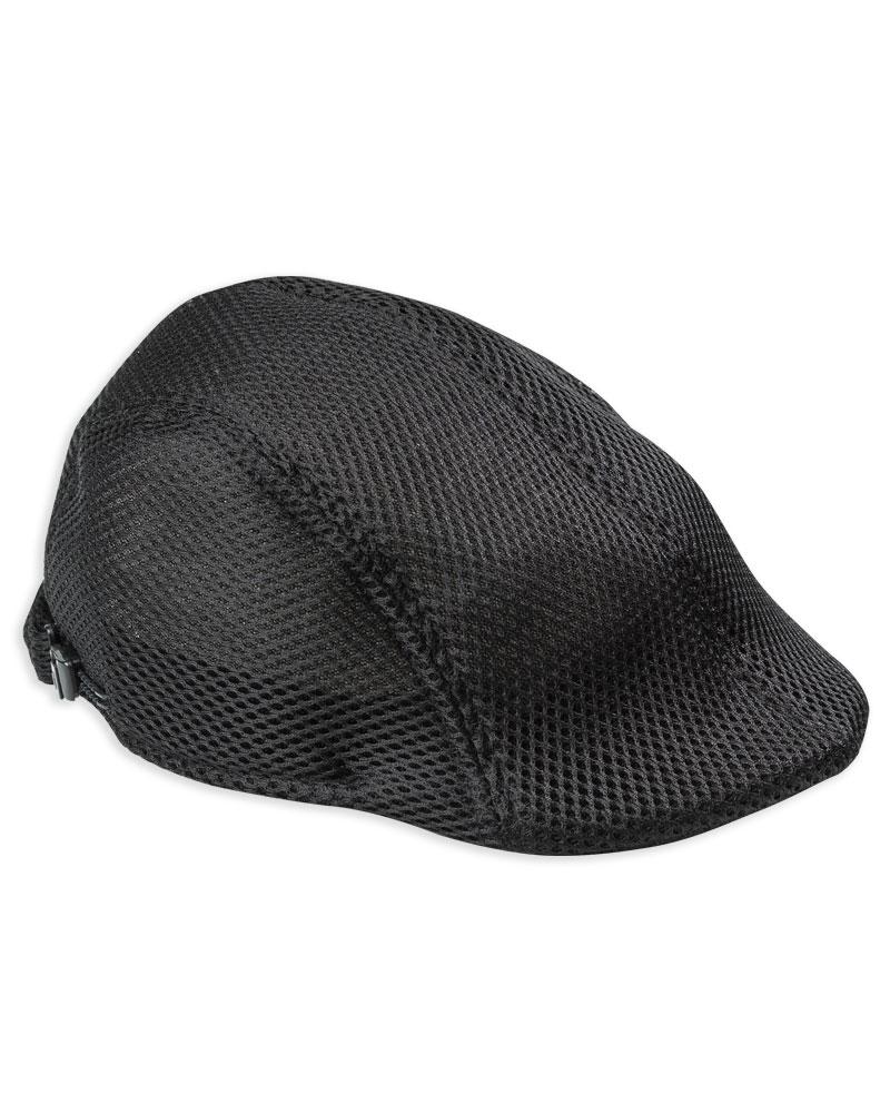 洞洞帽 貝雷帽 訂製 黑 HBR-B-06