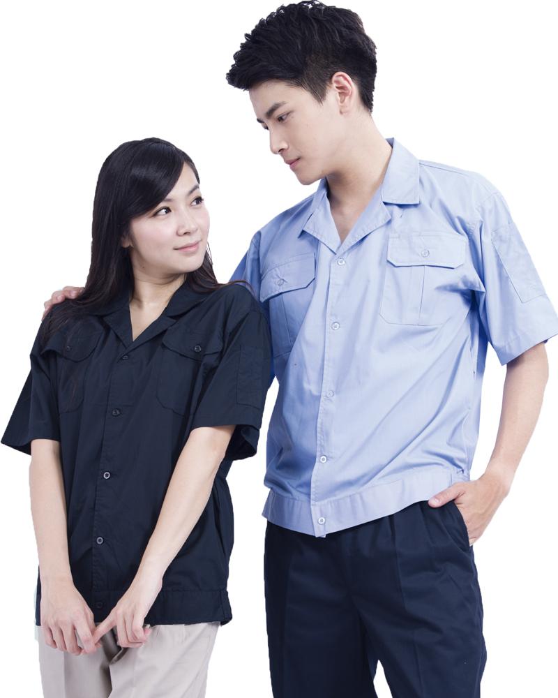 夾克式短袖工作衫 6