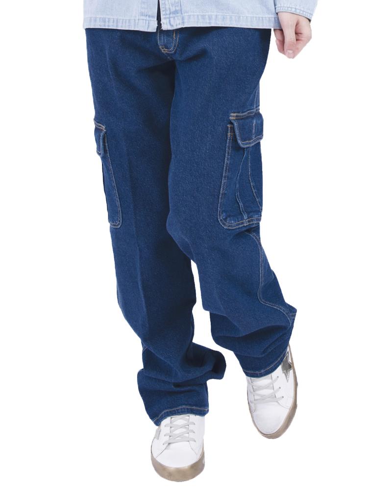 彈力貼袋牛仔褲 27