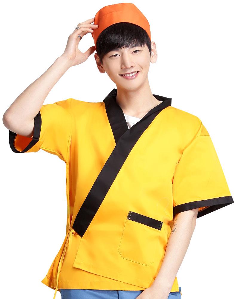 日式和服 黃/黑CC
