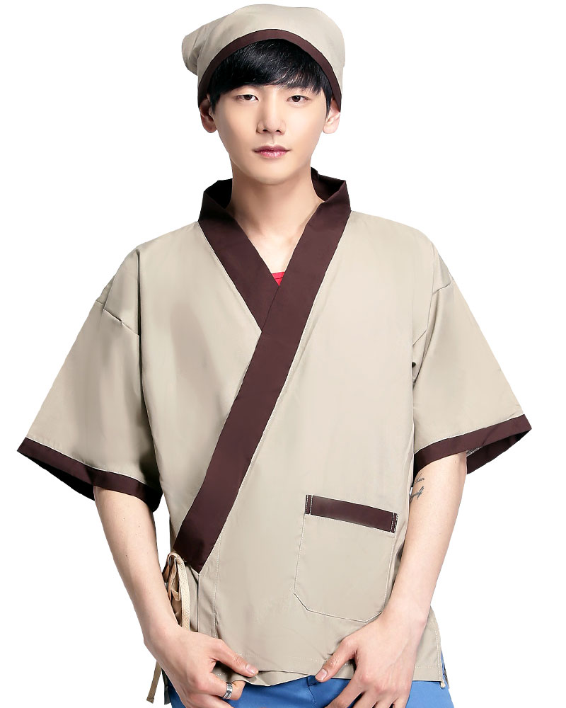 日式和服 卡其色CC