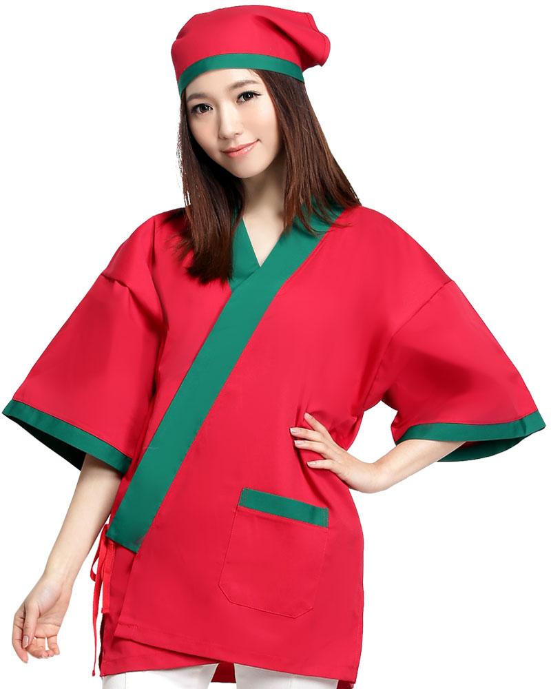日式和服 紅/綠CC