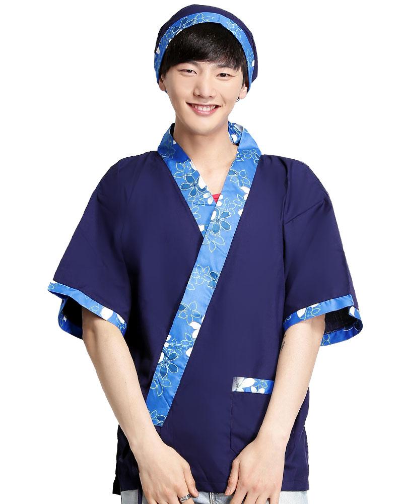 日式和服 花布/丈青