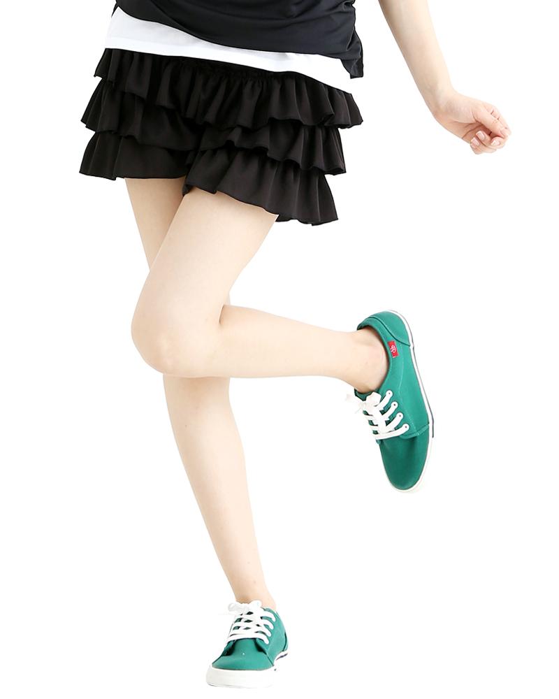 蛋糕短裙 黑SKCA