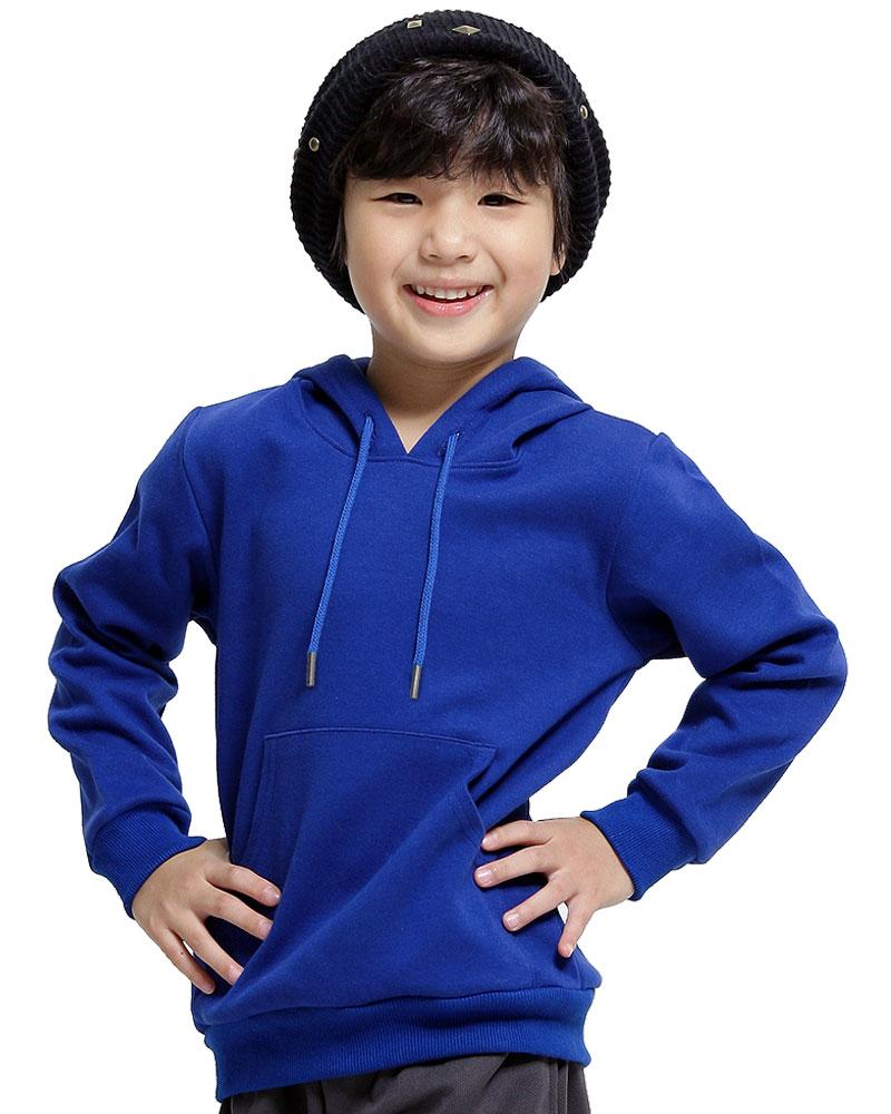 帽T童版訂製-寶藍H