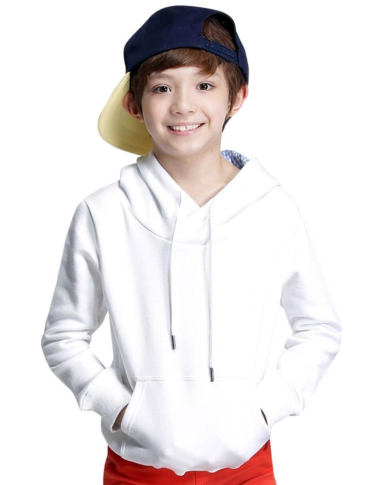 帽T童版訂製雙色帽-
