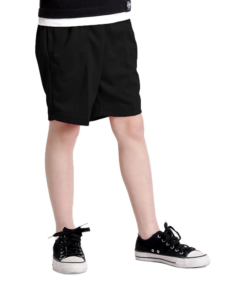 排汗現貨/短褲童/素