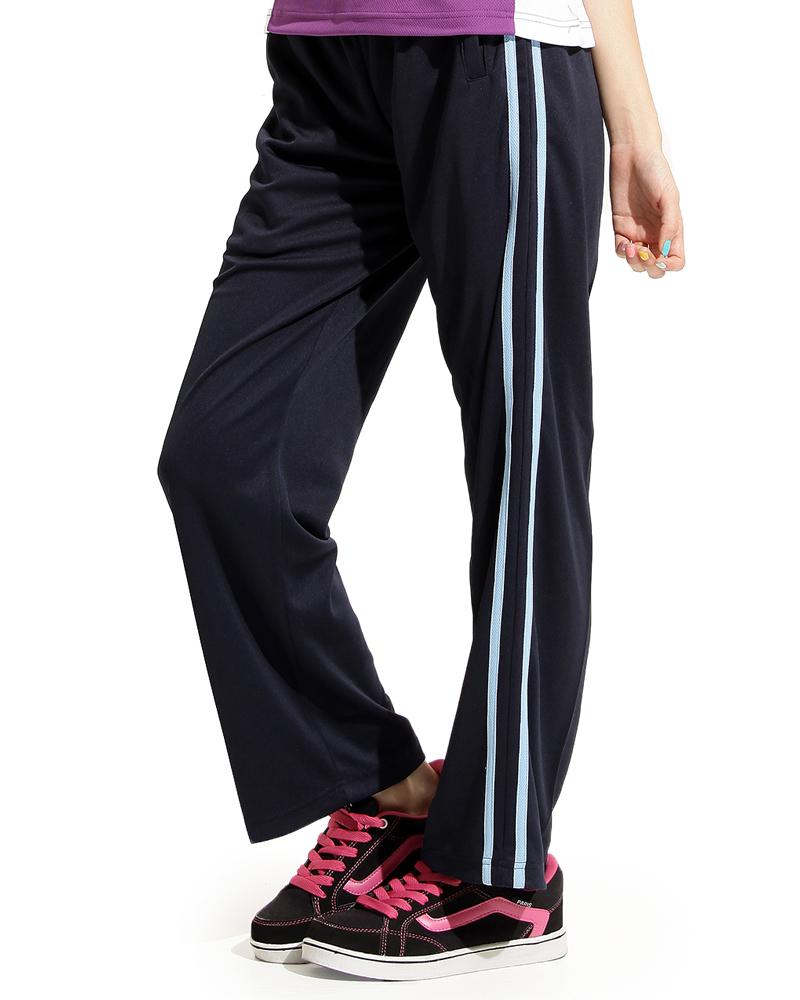 排汗長褲訂製側邊雙線