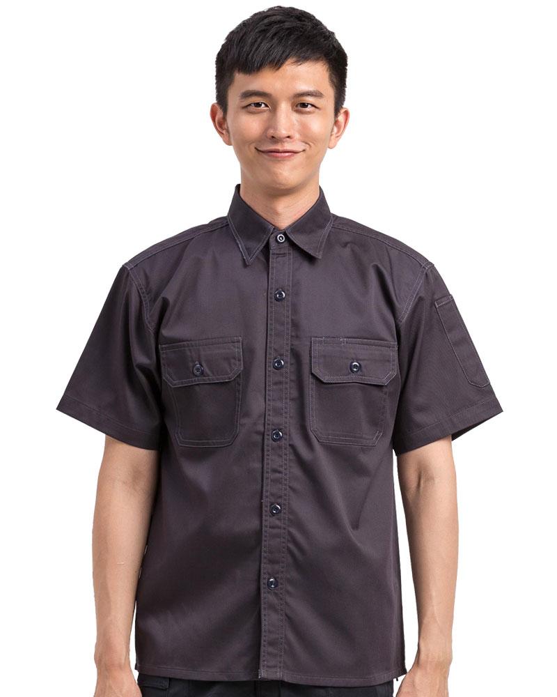 工作服短袖訂製款-紫