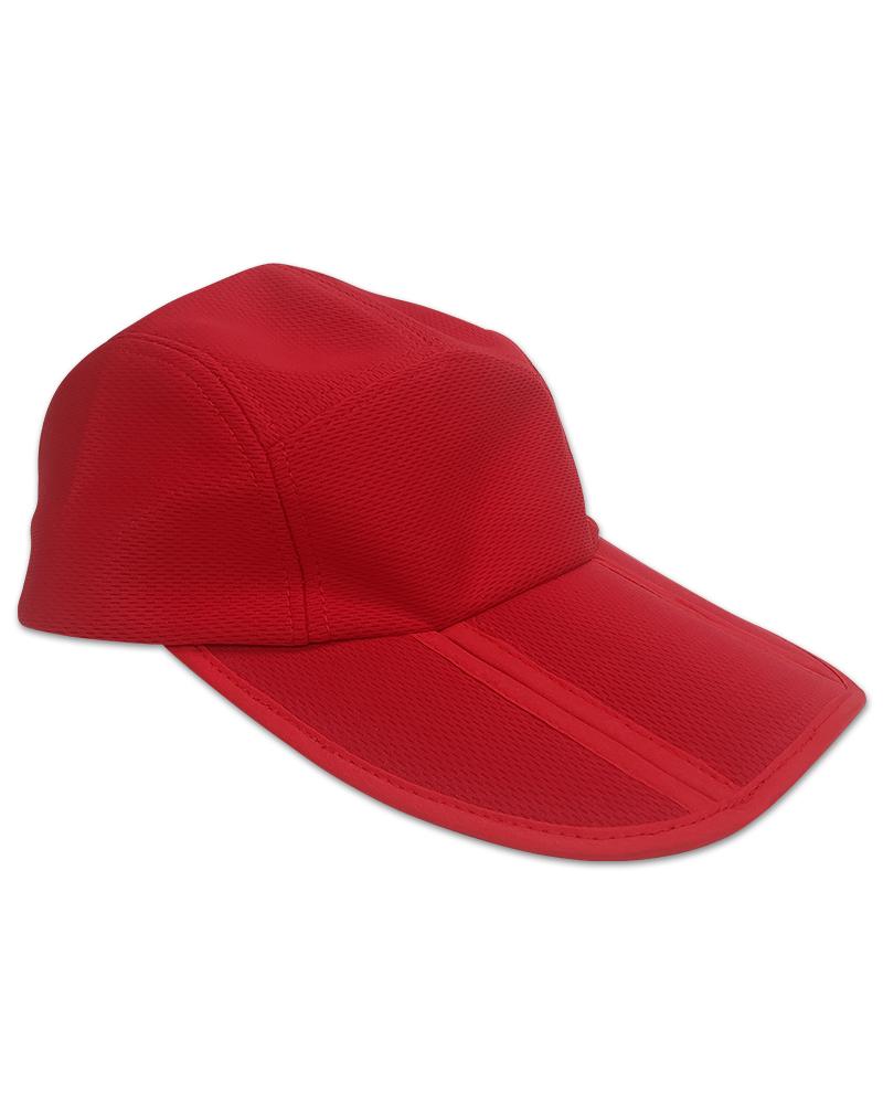 鳥眼排汗帽三折帽訂製