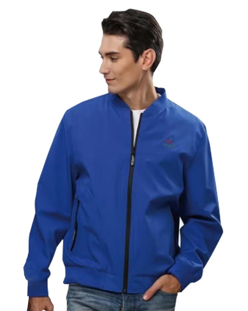 加裡夾克 寶藍 P1