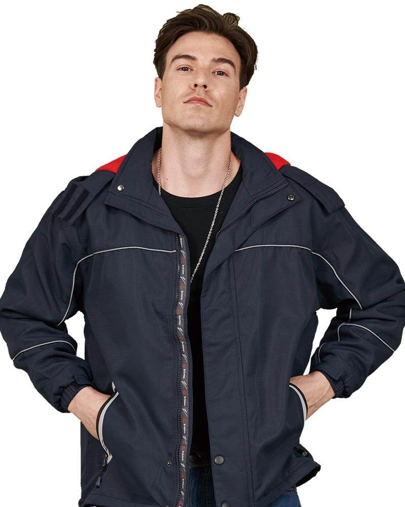 反光條安全性刷毛外套