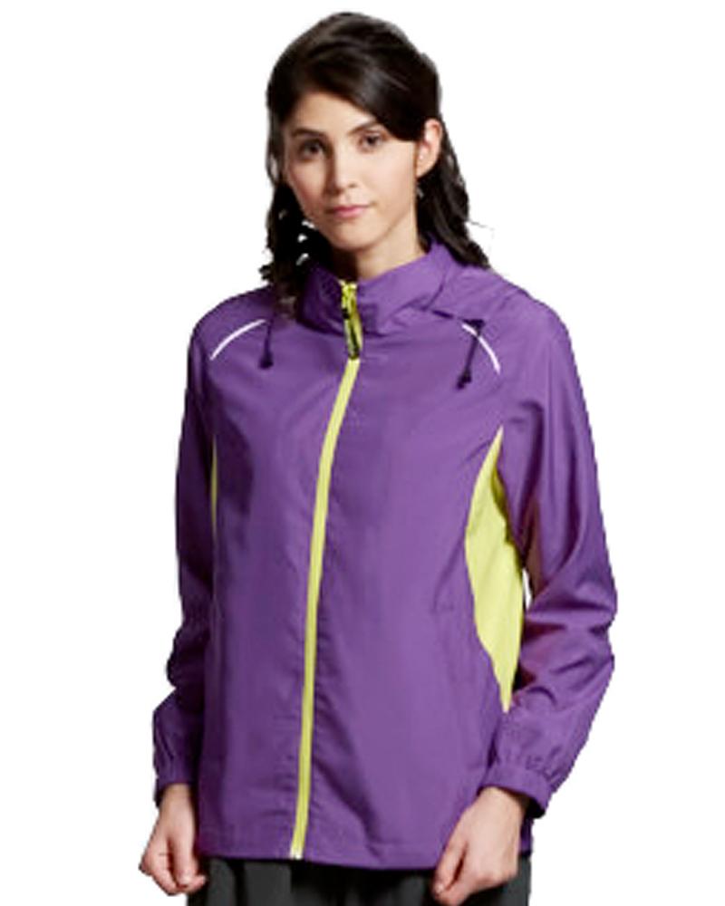 透氣網裡外套 紫 9