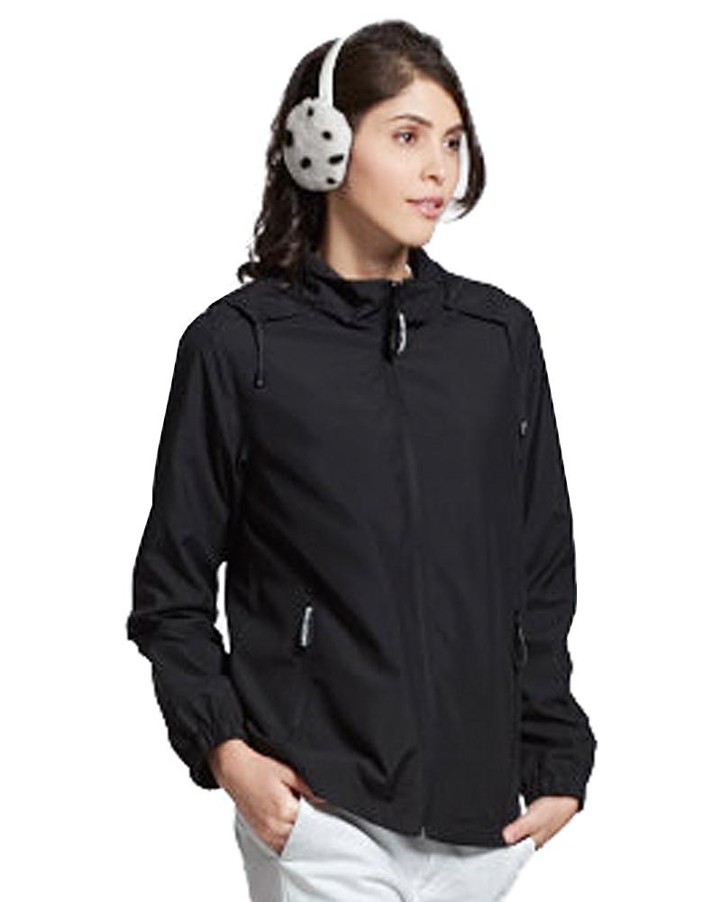 透氣網裡外套 黑 9