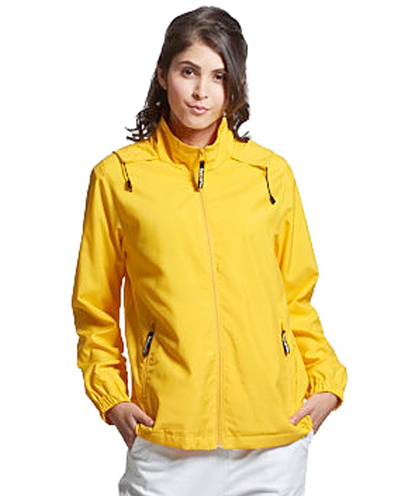 透氣網裡外套 黃色