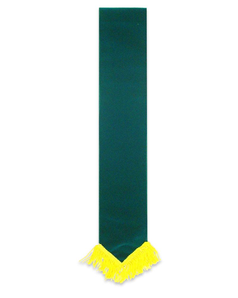絨布彩帶素面-綠色R
