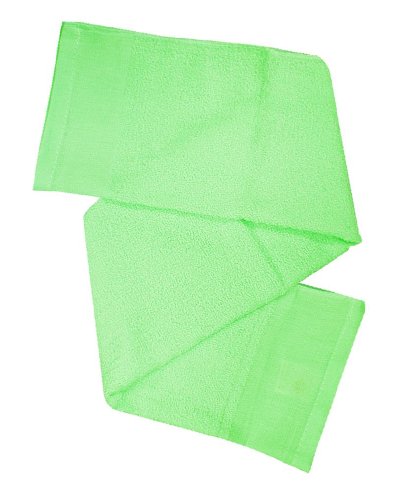 素面毛巾 粉綠TOW