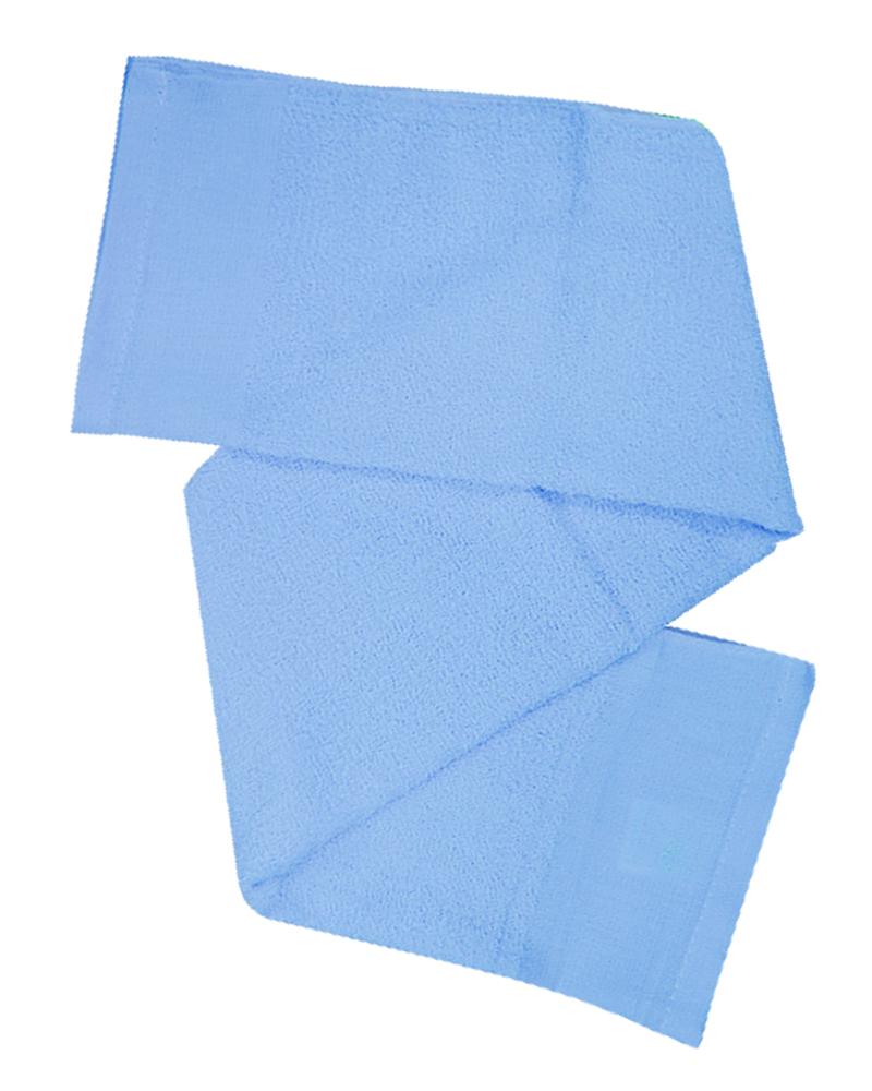 素面毛巾 藍TOW-