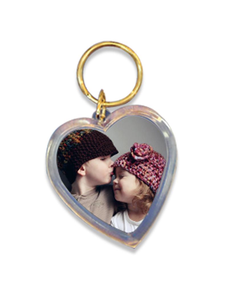 壓克力鑰匙圈 愛心形