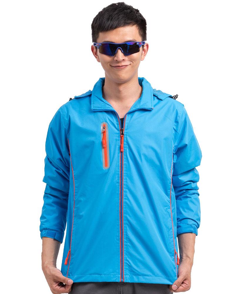 防潑水外套訂製款-彩藍COAT-B-06