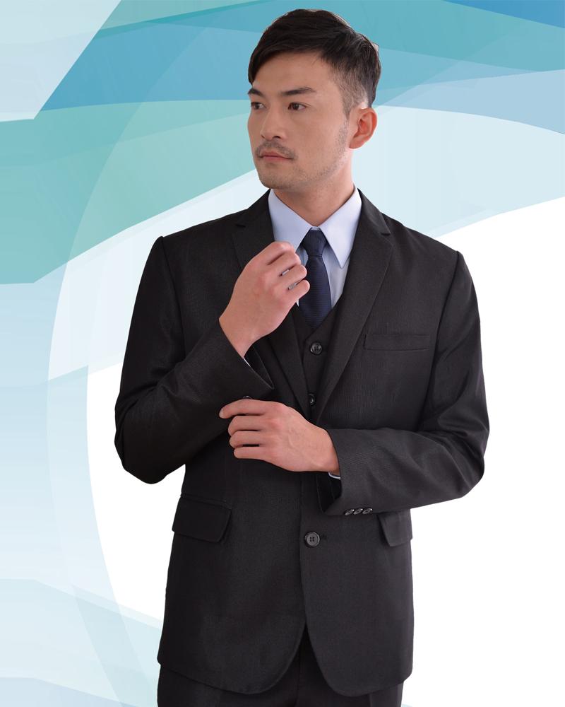 西裝外套 晶鑽黑 M