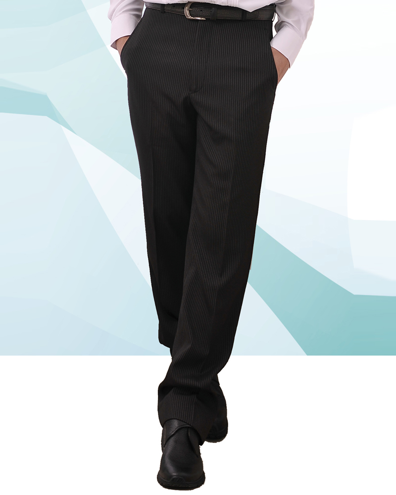 男西褲 平面/打摺