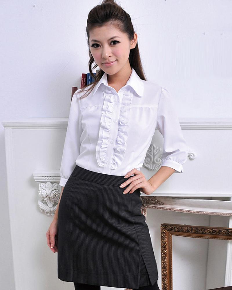 女單摺裙 黑底白條紋