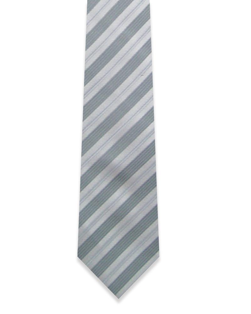 窄版 手打領帶 拉鍊