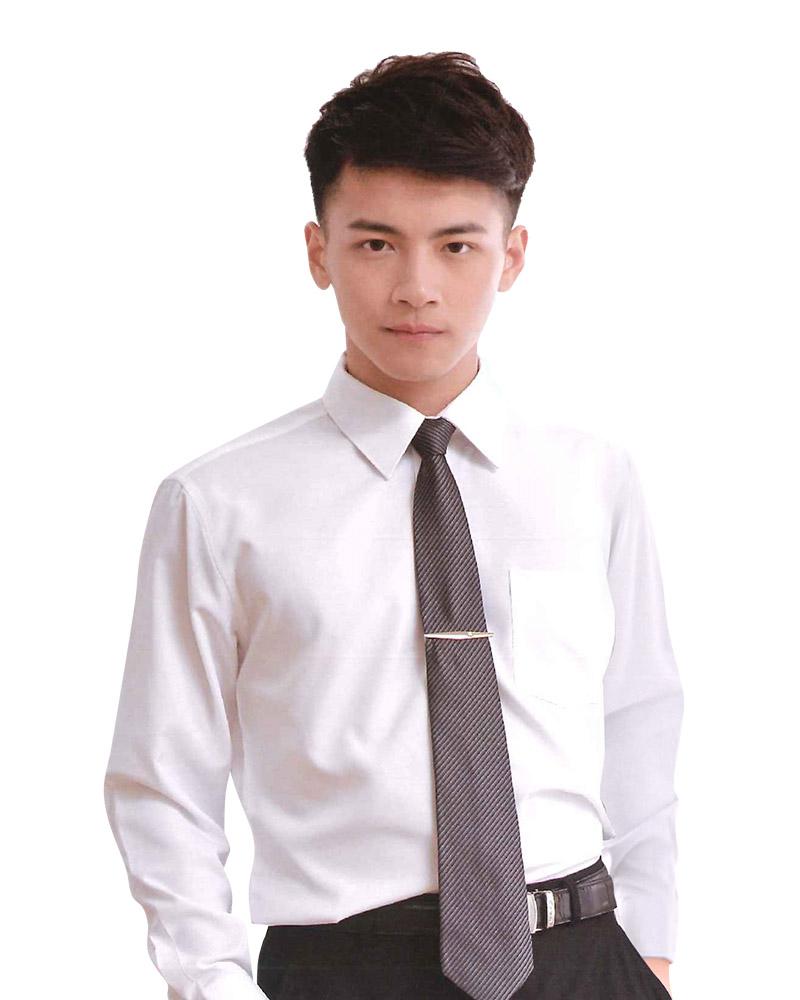 合身窄版男襯衫 長袖