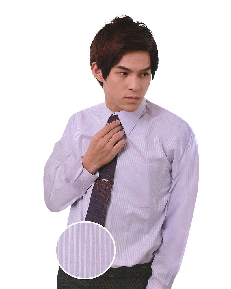 男襯衫 長袖襯衫 短袖襯衫 紫色暗紋 A-8506-4 #P.51