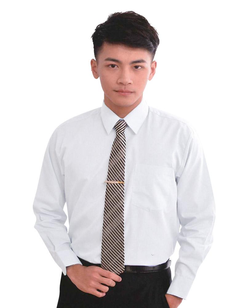 男襯衫 長袖襯衫 短袖襯衫 白色 L-101 #P.52