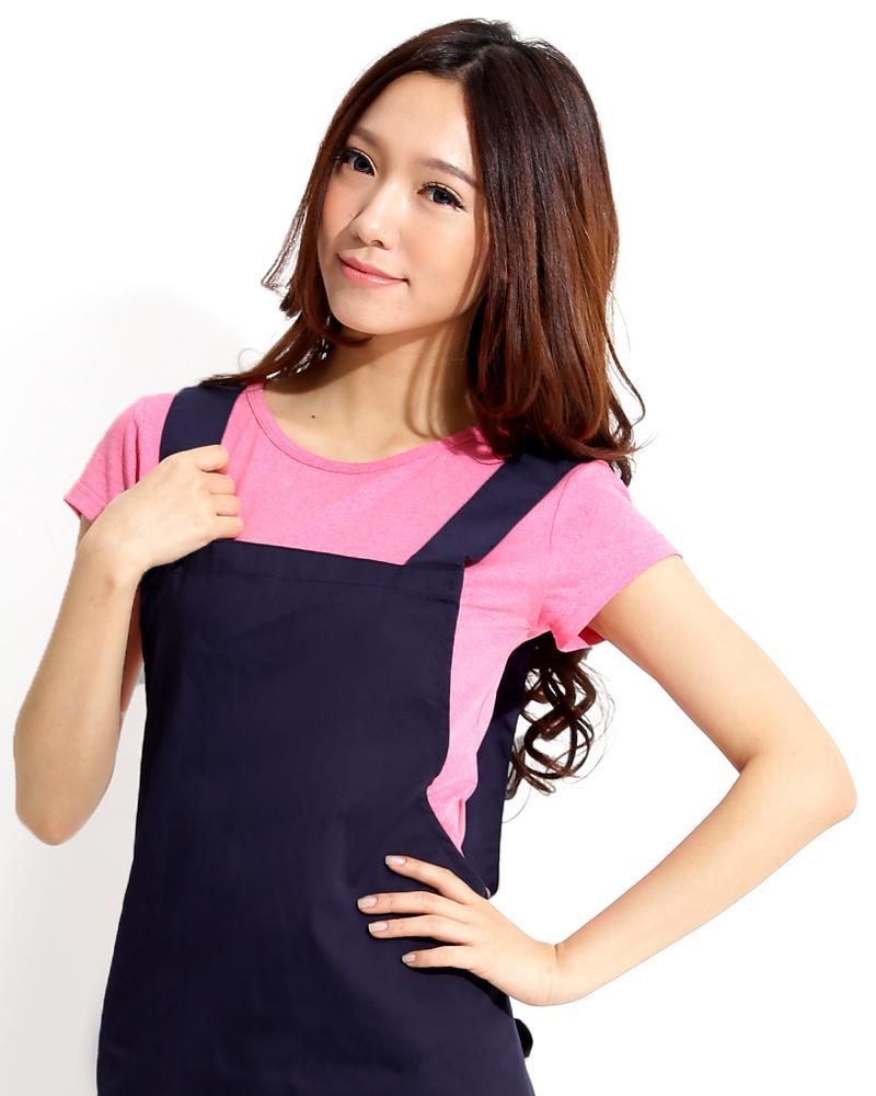 日式防潑水圍裙 丈青